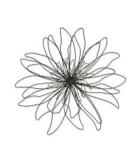 Though Sturdily Constructed From Metal This Charming Floral Piece Captures All The Delicate Whimsy And