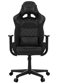 Gamdias Zelus E1 Gaming Chair - Black / Leather Style Vinyl Material /  Adjustable Back To 135 Degree / Adjustable Seat Height And Backrest / Class  4 ...