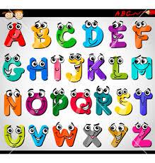 Capital letters alphabet cartoon vector by Igor Zakowski on