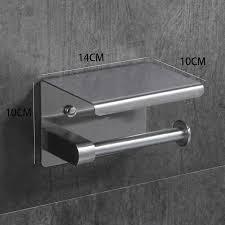 wc papier halter 304 edelstahl mit telefon handtuch halter für bad ausrüstung badezimmer zubehör wc rollen halter