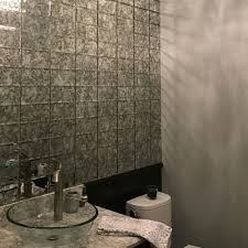 12x12 Antique Mirror Tiles by Marble Systems U2022 Crossville Studios