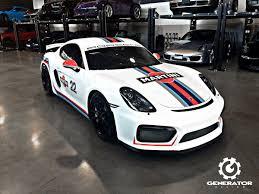 Porsche Cayman GT4 Looks So Damn Good In Martini Livery » AutoGuide ...