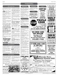The Greensheet (Dallas, Tex.), Vol. 29, No. 328, Ed. 1 Friday, March ...