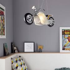 suspension chambre moto suspension pour chambre d enfant en forme de moto 2l e14 1l