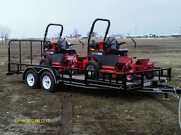 Commercial 18 Landscape Mowing Package Trailer