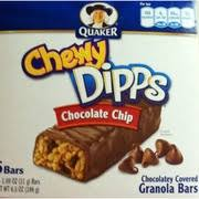 Photo Of Quaker Chewy Dipps Granola Bars Chocolate Covered Chip