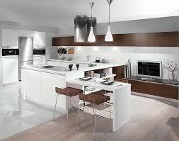 cuisine marron et blanc cuisine marron et blanc meuble cuisine marron pour les meubles