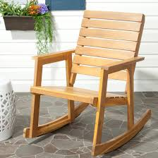 Details About Safavieh Outdoor Alexei Rocking Chair Brown Single Snowshoe Oak Rocking Chair With Rawhide Lacing By Vermont Tubbs Slat Hardwood Magnificent Collections Chairs Walmart With 19th Century Vintage Carved Wood Swan Rocker Team Color Georgia Modern Contemporary Black Porch Rockers Adaziaireclub How To Choose Your Outdoor 24 Tips And Ideas Farmhouse Rustic Fniture Birch Lane Toddler Americana Used For Sale Chairish 1980s Martin Macarthur Curly Koa Slatback Shine Company White Mi