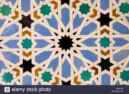 seville alcazar ceramic tiles stock photos seville alcazar