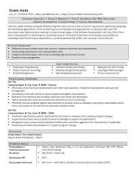 Software Engineering Resume Examples Engineer Example Page 1 Cv Format Doc