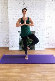 Standing Yoga Poses Tree Pose