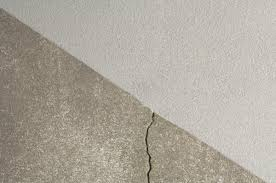 Crack In The Floor Before Using Repair Products By Armorpoxy Commercial