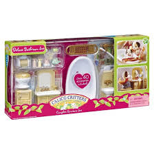 calico critters deluxe bathroom set target