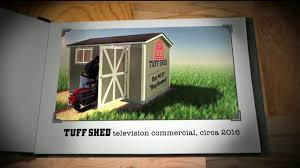 tuff shed 2 day sale tv commercial the test of time ispot tv