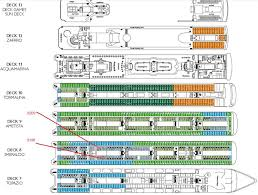 Breakaway Deck Plan 13 by Cabin On Armonia Backing Onto Stairwell Cruise Critic Message