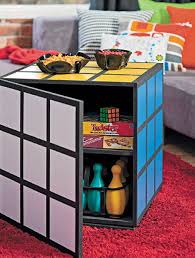 How To Make A Rubiks Cube Coffee Table Seems Like Cool Place Store All Your Board Games Sweet Hide Electronics Good For Kids Game Room