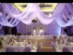 Wedding Ceiling Decor Ideas