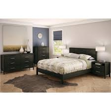 South Shore 6 Drawer Dresser Black by South Shore Gravity 6 Drawer Ebony Dresser 3577010 The Home Depot