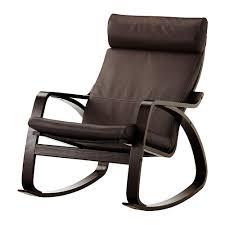 fauteuil relax cuir ikea poäng fauteuil à bascule glose brun foncé ikea