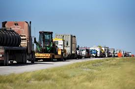 Forget Pipelines. Roads The Peril To West Texas Growth - Houston ... Texas Cdl Jobs Local Truck Driving In Tx Ice Launches Human Smuggling Invesgation After 55 People Found Tow Truck Driver Narrowly Capes Sliding Car Auto Body Shop San Antonio Maaco Collision Repair Southwestern Motor Transport Inc Action Rources Specialty Transportation Hazardous Materials Full Service Isuzu Commercial Dealer New And Rti Riverside Quality Trucking Company Based Alamo City Chevrolet Used Chevy Dealership Our Tmc Transportation Two Men And A Truck The Movers Who Care Houston Gulf Intermodal Services