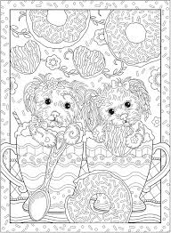Creative Haven PLAYFUL PUPPIES Coloring Book By Marjorie Sarnat Welcome To Dover Publications COLORING PAGE