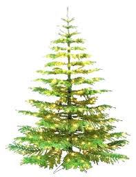 North Light Fir Slim Artificial Tree Unlit Fraser Christmas 75 Ft
