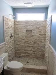 Rustic Bathroom Wall Decor Design Ideas In Blue Coloring Of Interior