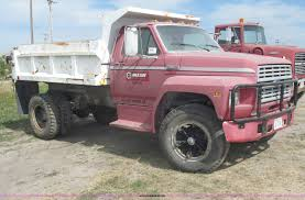 1986 Ford F600 Dump Truck | Item B5207 | SOLD! Thursday Sept...