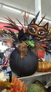 Carvable Craft Pumpkins Wholesale by Best 25 Halloween Floral Arrangements Ideas On Pinterest