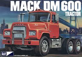 100 Model Truck Kits Amazoncom CPM MPC MPC859 125 Scale Mack DM600 Tractor