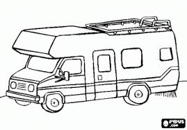 RV Coloring Pages
