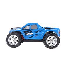 Wltoys A979 2.4G 1:18 Scale 4WD Electric Monster Truck - RTR For ... Traxxas Xmaxx 16 Rtr Electric Monster Truck Wvxl8s Tsm Red Bigfoot 124 Rc 24ghz Dominator Shredder Scale 4wd Brushless Amazing Hsp 94186 Pro 116 Power Off Road 110 Car Lipo Battery Wltoys A979 24g 118 For High Speed Mtruck 70kmh Car Kits Electric Monster Trucks Remote Control Redcat Trmt10e S Racing Landslide Xte 18 W Dual 4000 Earthquake 8e Reely Core Brushed Xs Model Car Truck