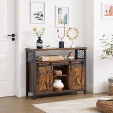 vasagle sideboard lsc092b01 aufbewahrungsschrank küchenschrank flur wohnzimmer vintage kaufen otto
