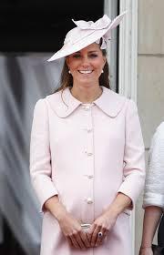 Duchess Kate pale pink wool coat by Alexander McQueen