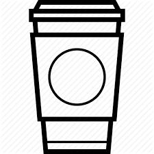 Coffee Cup Of Espresso Hot Starbucks Icon