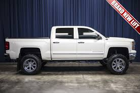 Used Lifted 2014 Chevrolet Silverado 1500 LTZ 4x4 Truck For Sale - 43822