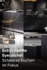 39 schwarze küche extravagant modern ideen küche
