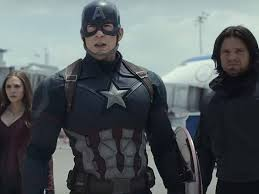 A Still From The Trailer Of Captain America Civil War