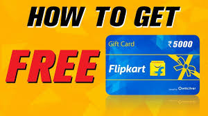 Flipkart Gift Card: How To Get Flipkart Gift Card Codes For Free |Free  Flipkart Gift Card Kaise Paye
