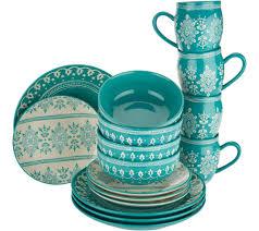 Savannah Turquoise Kitchen Canister Set by Clearance U2014 Kitchen U0026 Food U2014 Qvc Com