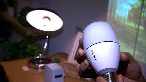 sony led bulb speaker sounds like a bright idea cnet