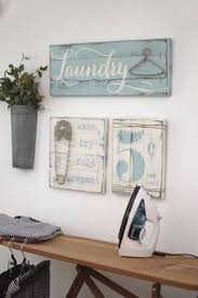 LAUNDRY SIGN SET Laundry Room Decor Signs Rustic Sign Wood Fixer Upper