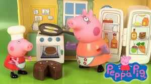 peppa pig jouets la cuisine de chef peppa s kitchen playset