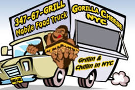 No-Nonsense Gorilla Cheese Truck Hitting The Road Soon - Eater NY Nyc Food Truck Archives By Karra Grilled Cheese Truck On Twitter Hi Were Here Grille Official Website Order Online Direct Tasty Eating Gorilla Food Stock Photos Images Alamy 11 Fantastic New York City Trucks For Every Kind Of Meal Eater Ny Kosher Sushi Hits The Streets That Fires Worker After Tipshaming Wall Street Firm An Guide To Best Around Urbanmatter Nyc