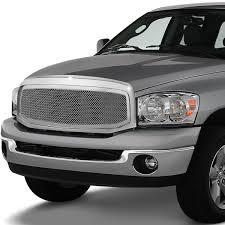 DNA Motoring: For 2006-2009 Dodge Ram Truck Chrome Badgeless Fence ...