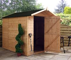 7x7 Shed Base Kit by Cotswold Shiplap 7x7 Offset Apex Shed Greenhouse Stores