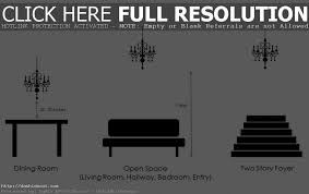 Dining Room Chandelier Height Calculator Fallcreekonline Designs