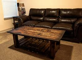 Pallet Wood Coffee Table Details
