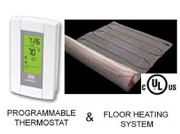 Warm Tiles Easy Heat Thermostat by 6 Best Radiant Floor Heaters Reviews U0026 Ultimate Guide 2017