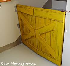 Sew Homegrown: Barndoor Baby Gate Baby Gate With A Rustic Flair Weeds Barn Door Babydog Simplykierstecom Diy Pet Itructions Wooden Gates Sliding Doors Ideas Asusparapc The Sunset Lane Barn Door Baby Gate Reclaimed Woodbarn Rockin The Dots How To Make 25 Diy 1000 About Ba Stairs On Pinterest Stair Image Result For House